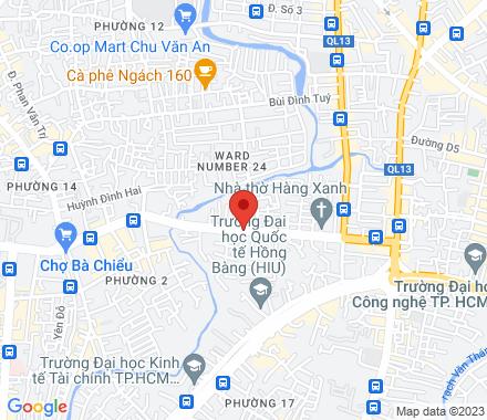 194/19/7 BẠCH ĐẰNG. P24 . BÌNH THẠNH 00084 Ho Chi Minh City Vietnam - Map view