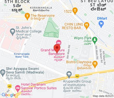 Koramangala   ,  Bangalore, in - Map view