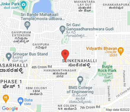 Ramanjaneya Temple Compound, Hanumanthanagar, Basavanagudi 560019 Bangalore India - Map view