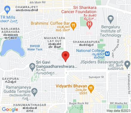 Ramakrishna Math, Bull Temple Road, Basavanagudi 560019 Bangalore India - Map view
