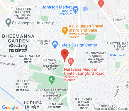 2 Berlie Street 560001 Bangalore India - Map view