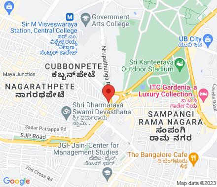 Karnataka  ,  Bangalore, in - Map view