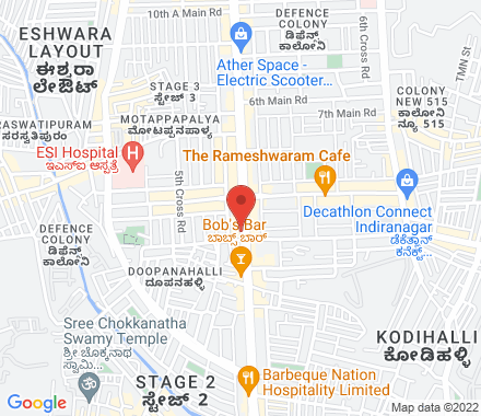 776, 100 FEET Rd, INDIRANAGAR(above ING  Bank) 560008  India - Map view