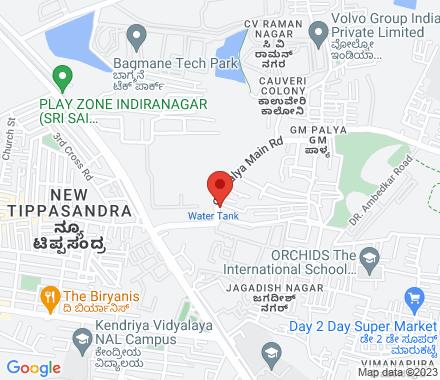 560001 Bangalore India - Map view