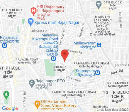 Bangalore  ,  Bangalore, in - Map view