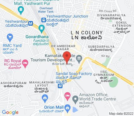 Above The Little Patisserie 560055 Bangalore India - Map view