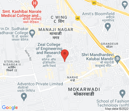 411041 Pune India - Map view