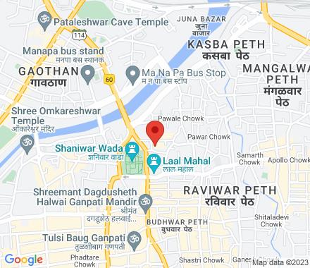 3, Anand Complex, Alkapuri Society, Opp. Hotel Kinara Above Bata Showroom, Vanaz Corner, Paud Road, Kothrud 411029  India - Map view