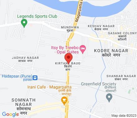 305, Konark Icon, Magarpatta Road, Kirtane Baug, Hadapsar  ,  Pune, in - Map view