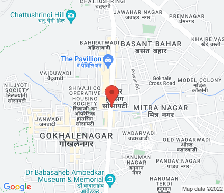 505, A-Wing, MCCIA Trade Tower, ICC Complex, 403, Senapati Bapat Road  ,   Pune, in - Map view