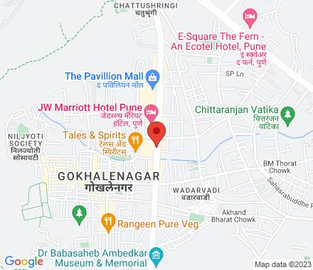 ICC Towers, Next To JW Mariott Hotel Senapati Bapat Road, Pune  , meetup8 Pune, IN - Map view