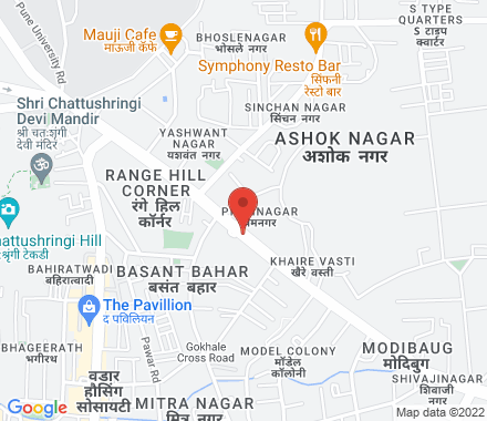 411016 Pune India - Map view