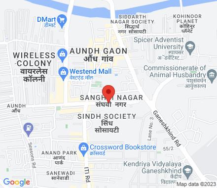 11/B, Ajay Apartments, Above Reebok Showroom, Near Parihar Chowk, Aundh 411007 Pune India - Map view