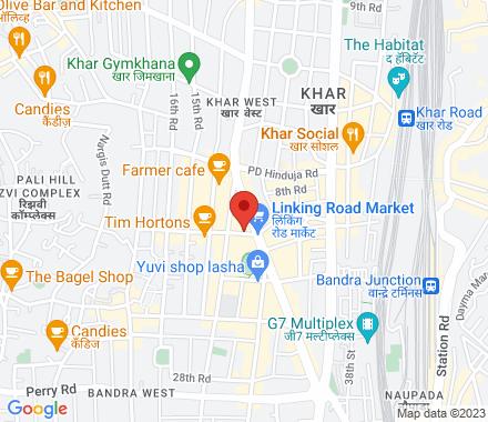 2nd Floor, Kenilworth Mall, Phase 2, Off Linking Road, Bandra West 400050 Mumbai India - Map view