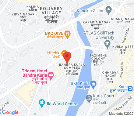 Bldg no 11 ,7th floor, next to the trade centre, Opp Citibank,Bkc  ,  Mumbai, in - Map view