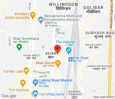 Rohan Plaza, 5th Road, Khar West, 400052 Mumbai India - Map view