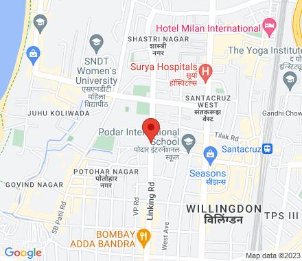 Ground Floor, Omeez Apartments, Junction Of Dattatrey Road & Tagore Rd, Next To Sarla Nursing Home, Hasmukh Nagar, Santacruz We - Map view