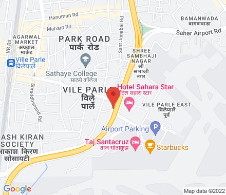 Opp Domestic Airport, Western Express Highway 400057 Mumbai India - Map view
