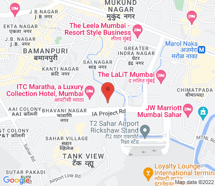 Sahar Airport Road, Andheri East 400099 Mumbai India - Map view