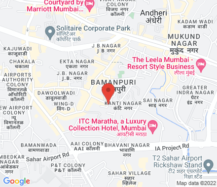 Sahar Airport Road  ,  Mumbai, in - Map view
