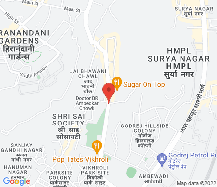 1109 A-Wing Kailas Business Park, Park Site, Hiranandani Link Road, Vikhroli West   ,  Mumbai, in - Map view