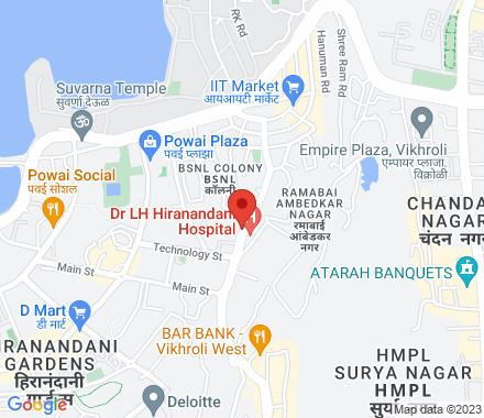 400076 Mumbai India - Map view