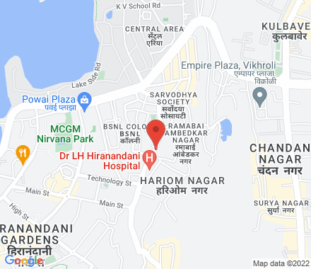 Prudential, Hiranandani Gardens, Powai 400076 Mumbai India - Map view