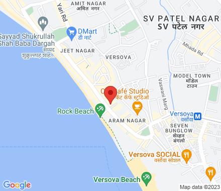 22, Sangini House, Aram Nagar 1, J. P. Road, Versova, Andheri (West) 400061 Mumbai India - Map view