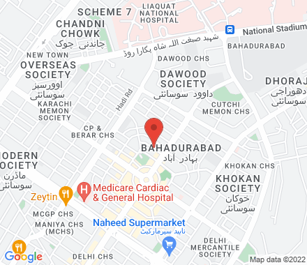 0900 Karachi Pakistan - Map view