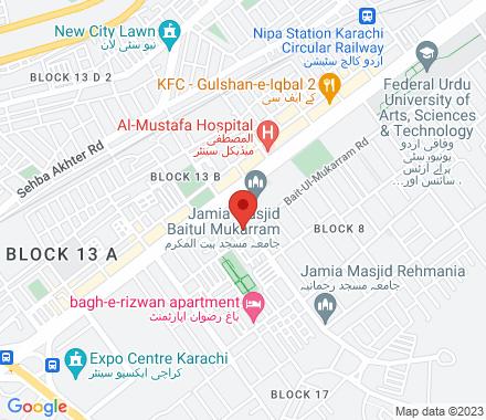 Sys Visas (Pvt) Ltd., Suit # 501, Balad Trade Centre Nerar Tooso Restaurent, Bahadurabad, Karachi - Pakistan, Karachi, Pakistan- - Map view