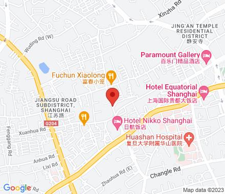 Zhen Ning Road  ,  Shanghai, cn - Map view