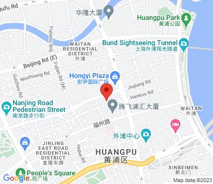 200001 Shanghai China - Map view
