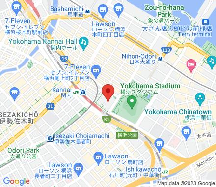 Nihonodori Station, exit 3, connected  ,  Yokohama, jp - Map view