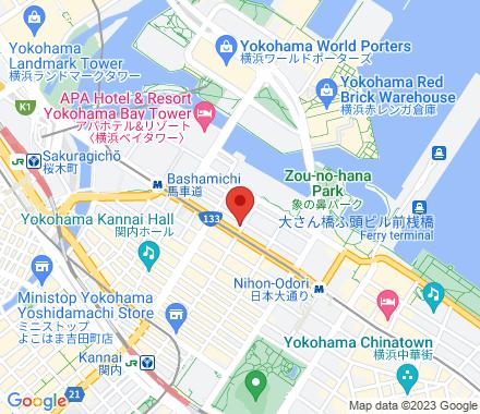 231-0005 Yokohama Japan - Map view