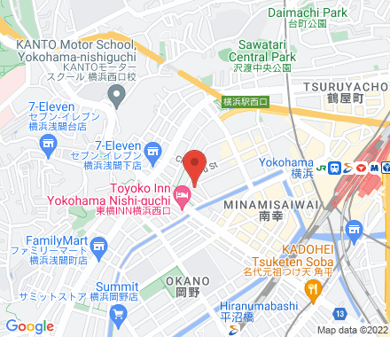 神奈川県横浜市西区北幸2-14-8  ,  Yokohama, jp - Map view