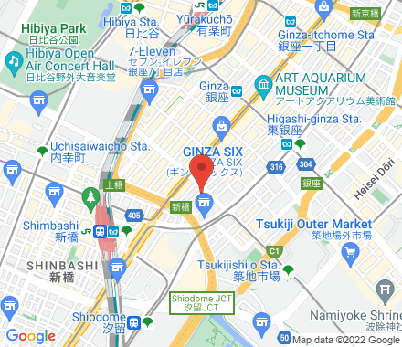 銀座8-11-13 エリザベスビルB1 104-0061 Chuo-ku Japan - Map view