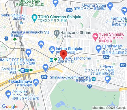 新宿区新宿3丁目  ,  Tokyo, jp - Map view