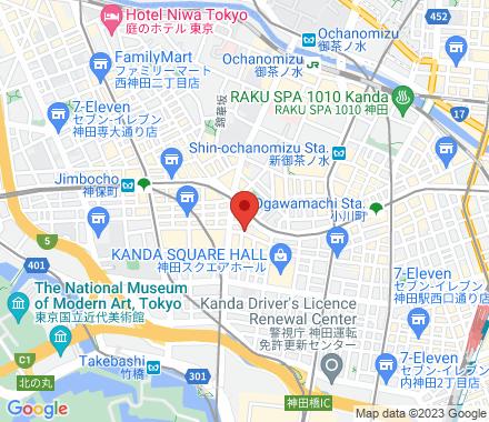 東京都 千代田区 神田小川町 3-1 神田第八KMビル  ,  TOKYO, jp - Map view
