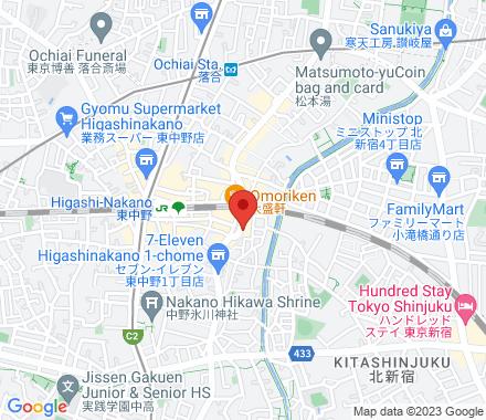 東中野1-46-11 164-0003 Tokyo Japan - Map view