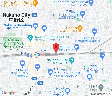 464-2 4F Broadway Center, 5-52-15 Nakano, Nakano-ku, Tokyo 164-0001  - Map view