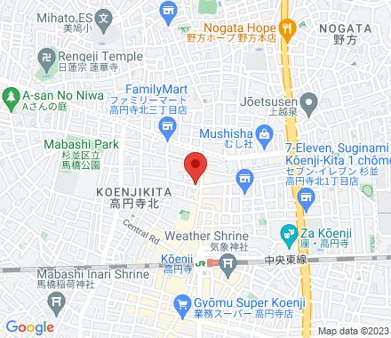 高円寺北3-34-2 1660002 Suginami-ku Japan - Map view