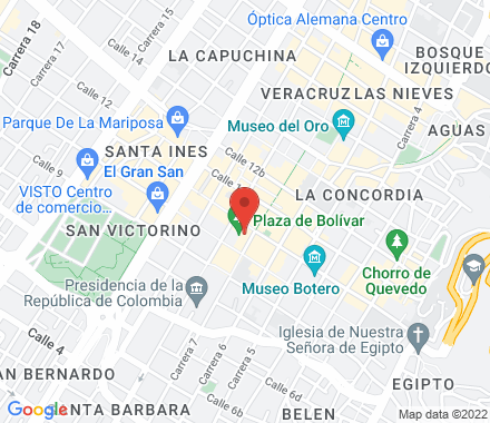 Av. Carrera 30 # 8-65 11001000 Bogotá Colombia - Map view