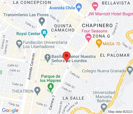 Calle 65 #7-52, Chapinero, Bogotá  ,  Bogotá, co - Map view