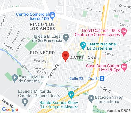 Carrera 49 b # 93 - 78 111211 Bogotá Colombia - Map view