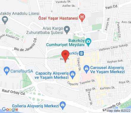 34000 Istanbul Turkey - Map view