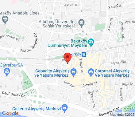 Zeytinlik Mah. Fazılpaşa Sok. Burat İş Hanı No:1 Bakırköy  Istanbul Turkey - Map view