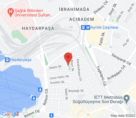 Istanbul Turkey - Map view