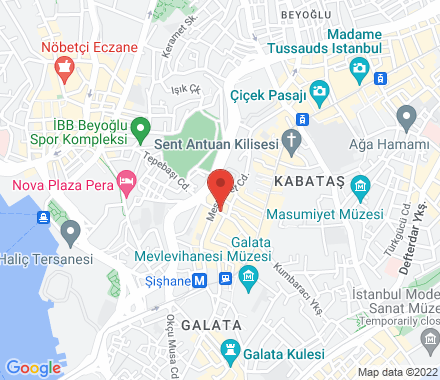 Asmalı mescit caddesi 32/a beyoğlu 34430 Istanbul Turkey - Map view