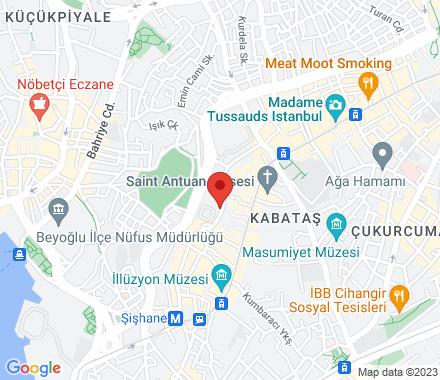 34430 Istanbul Turkey - Map view