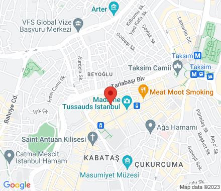İstiklal Cad. Balo sok. no 22 34420  Turkey - Map view